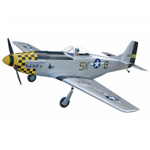 World Models P-51 Mustang G.S. 30cc  (R2 - Double Trouble)